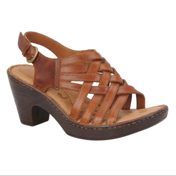a7e9fefeba7f Born Shoes -  Born   Valakas  Huarache Sandals w  Heel ...